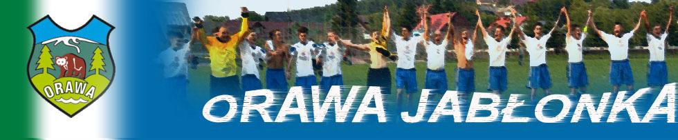 Ludowy Klub Sportowy Orawa Jabłonka. Klub powstał w 1995 roku. Nazwa LZS (Ludowy Zespół Sportowy) Orawa Jabłonka obowiązywała przez 8 lat, aż do momentu, kiedy Zespół stał się Klubem Sportowym, a miało to miejsce w 2003 roku.